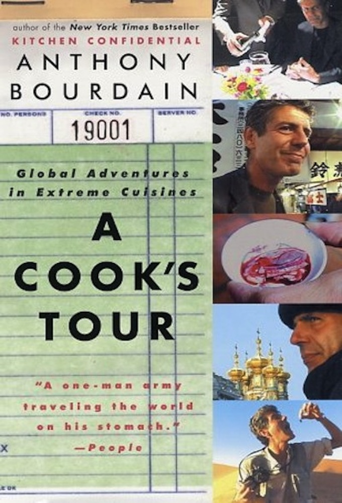 Poster voor A Cook's Tour