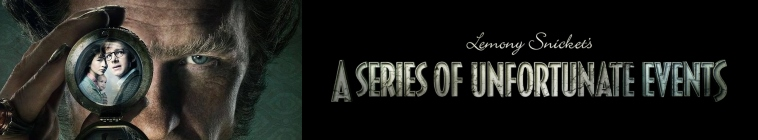 Banner voor A Series of Unfortunate Events