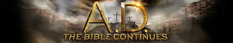 Banner voor A.D. The Bible Continues