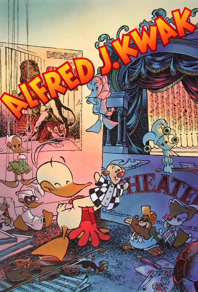 Poster voor Alfred Jodocus Kwak