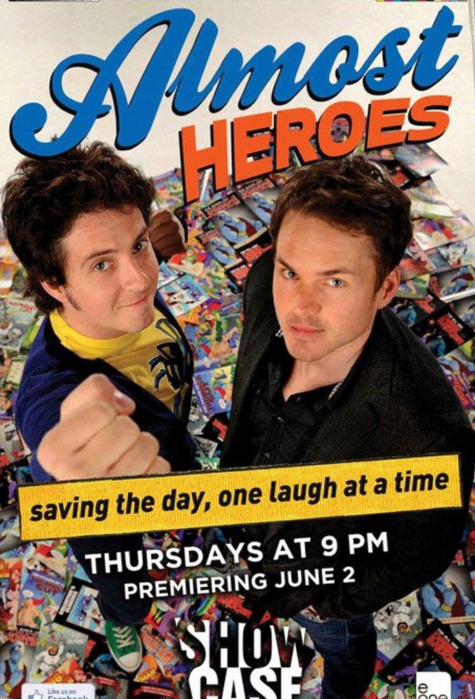 Poster voor Almost Heroes