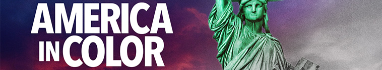Banner voor America in Color