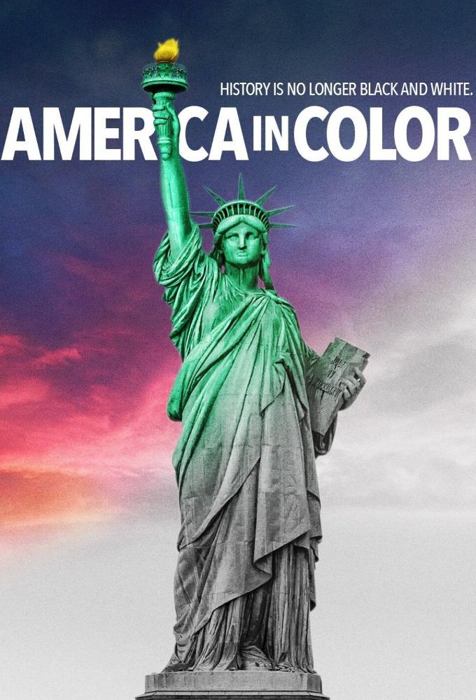 Poster voor America in Color