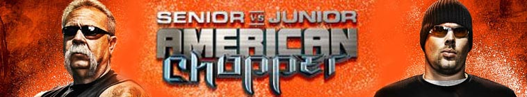 Banner voor American Chopper: Senior vs Junior