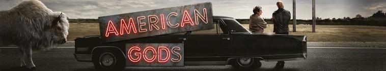 Banner voor American Gods