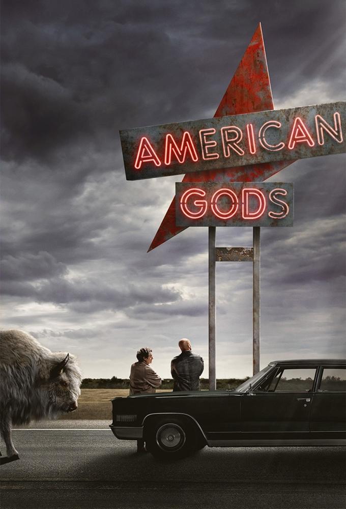Poster voor American Gods