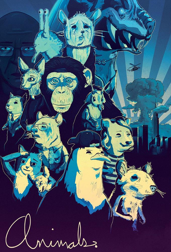 Poster voor Animals.