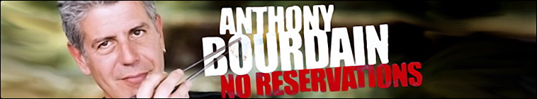 Banner voor Anthony Bourdain: No Reservations