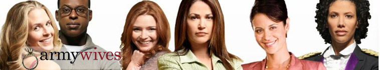 Banner voor Army Wives