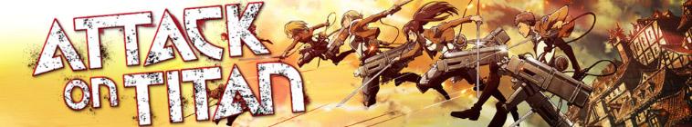 Banner voor Attack on Titan