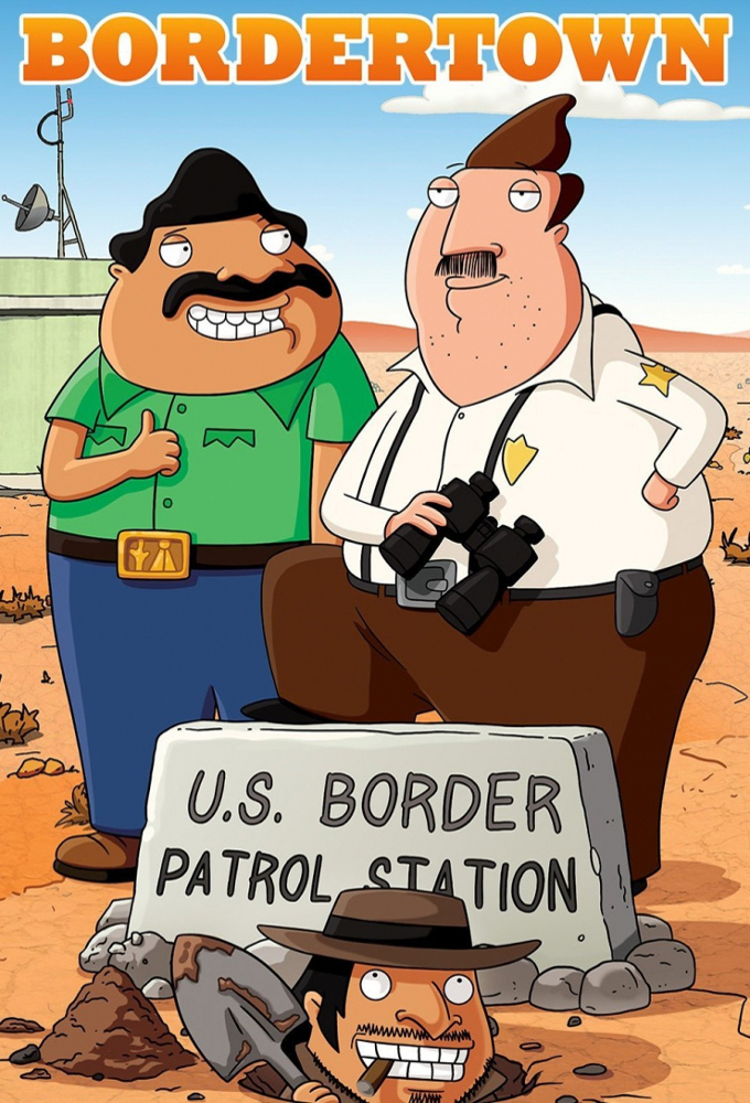 Poster voor Bordertown