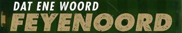 Banner voor Dat ene woord - Feyenoord