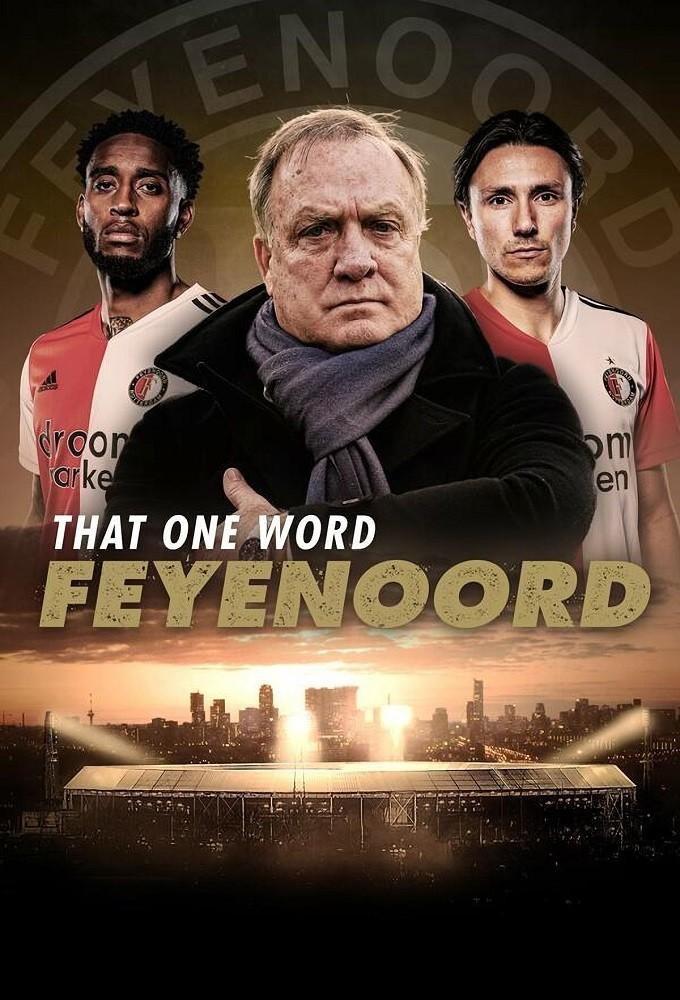Poster voor Dat ene woord - Feyenoord