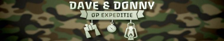 Banner voor Dave & Donny op Expeditie