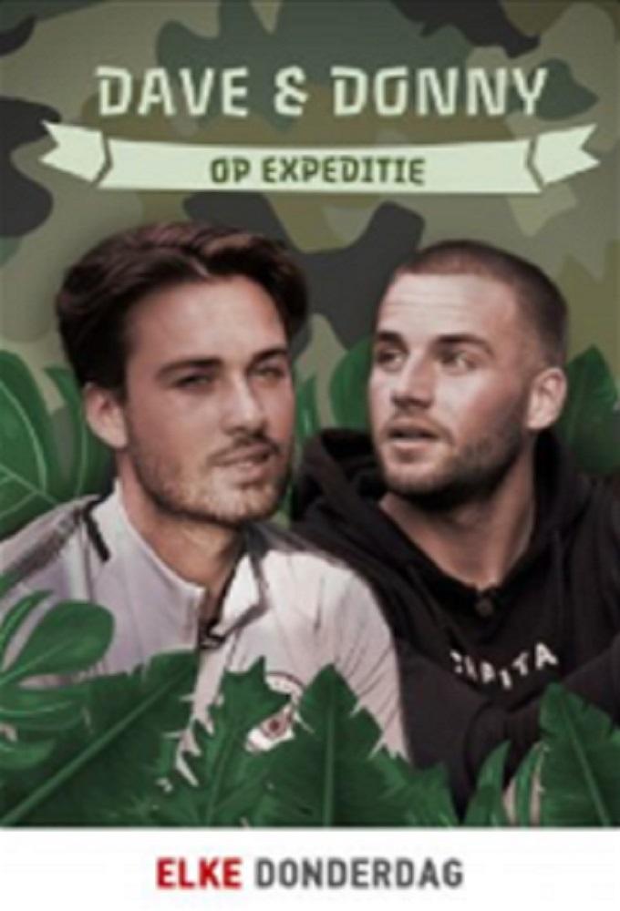 Poster voor Dave & Donny op Expeditie
