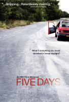 Poster voor Five Days