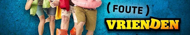 Banner voor Foute Vrienden op Vakantie