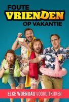 Poster voor Foute Vrienden op Vakantie
