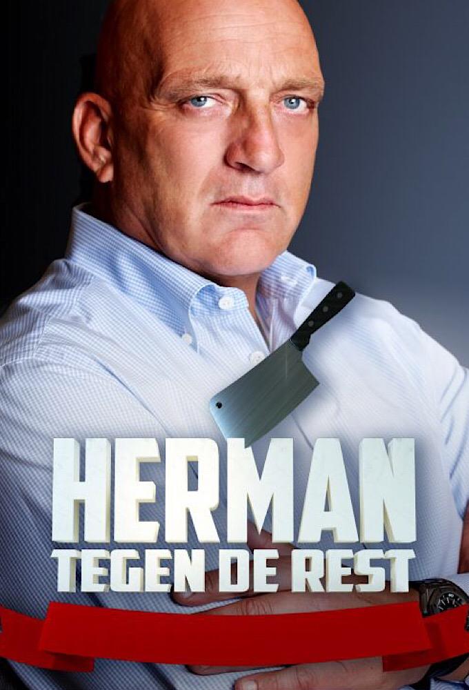 Poster voor Herman tegen de rest