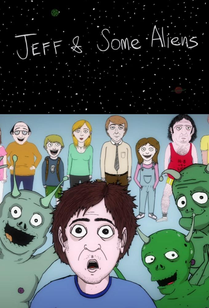 Poster voor Jeff & Some Aliens
