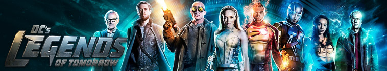 Banner voor Legends of Tomorrow
