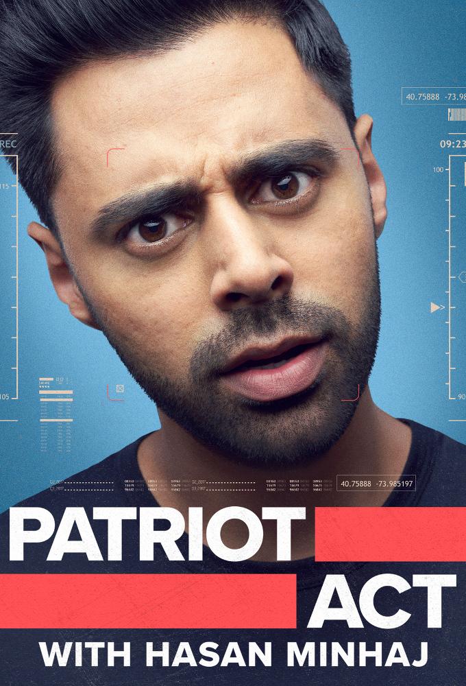 Poster voor Patriot Act with Hasan Minhaj