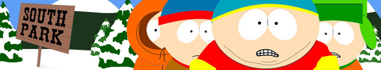 Banner voor South Park