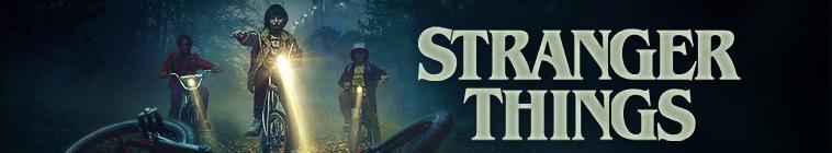 Banner voor Stranger Things