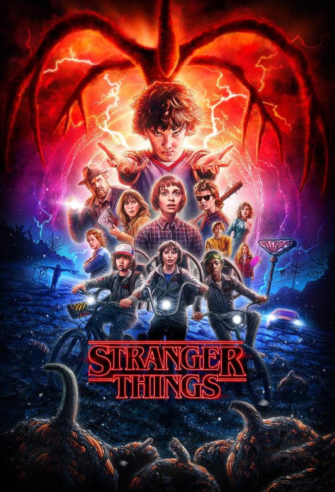 Poster voor Stranger Things