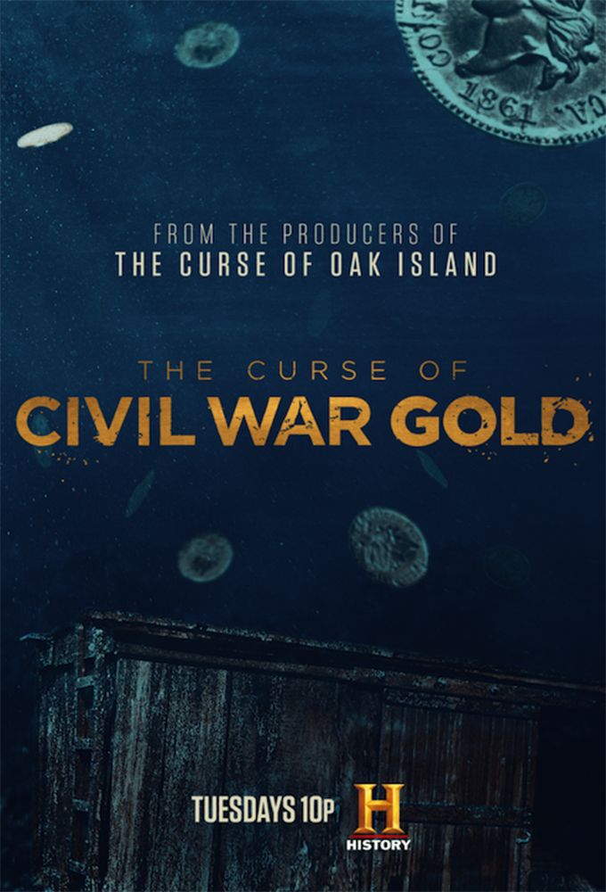 Poster voor The Curse of Civil War Gold