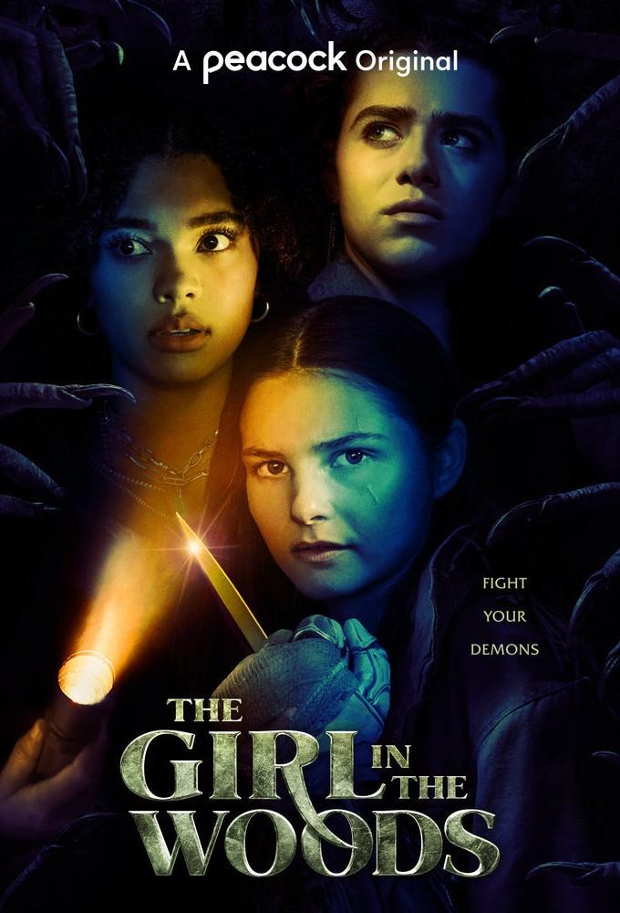 Poster voor The Girl in the Woods