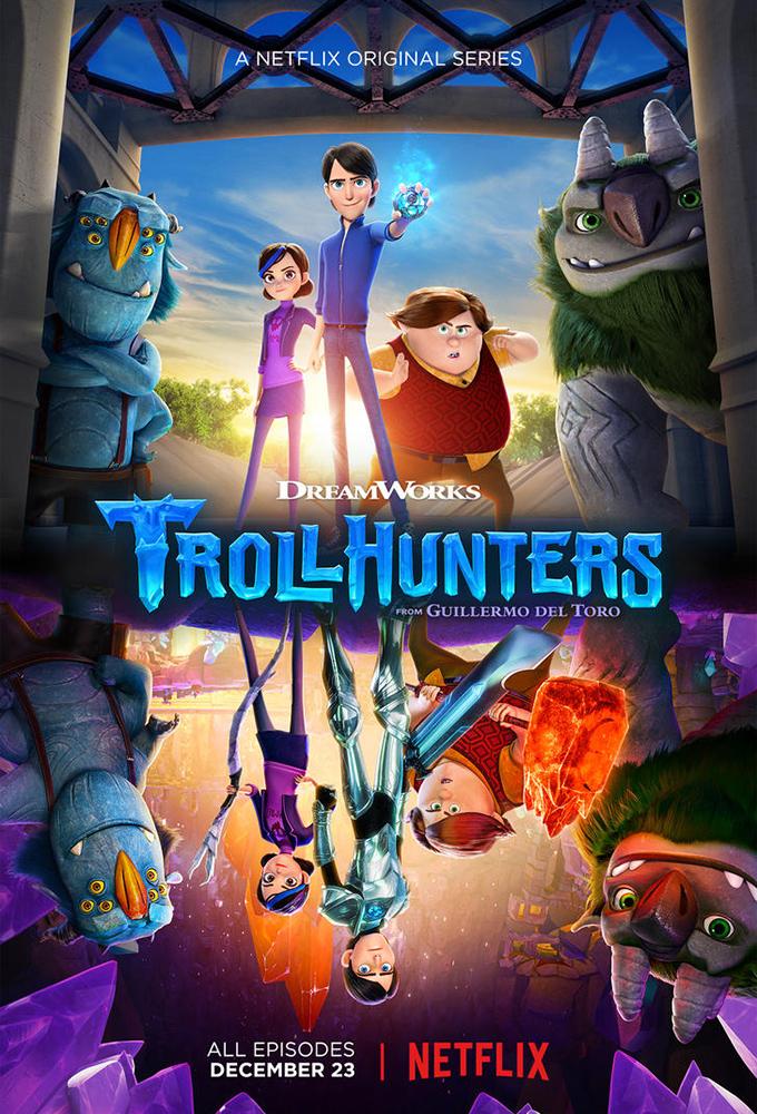 Poster voor Trollhunters