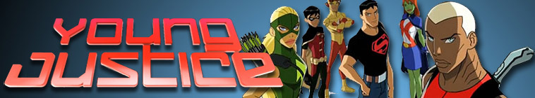 Banner voor Young Justice